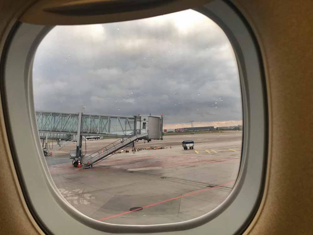 Flug verpasst Hotel gebucht, Flugausfall
