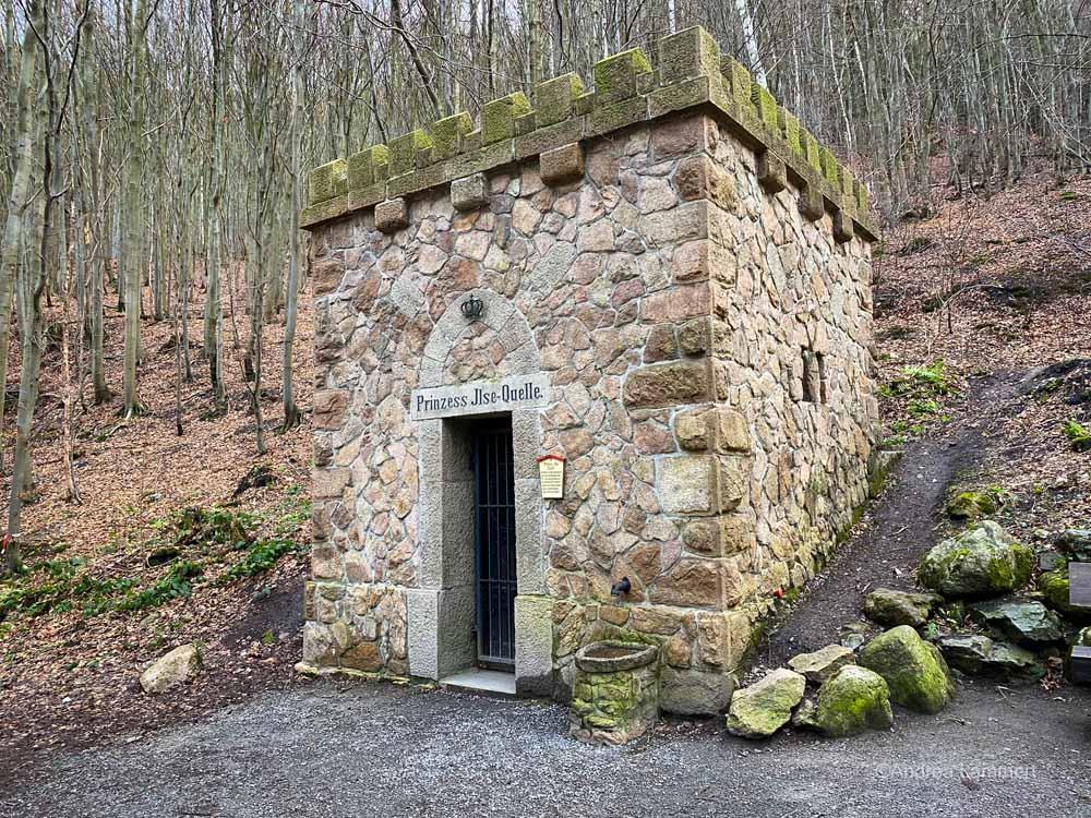 Harz, wandern im Ilsetal, Brocken