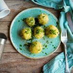 Rezept: Kartoffelknödel halb und halb