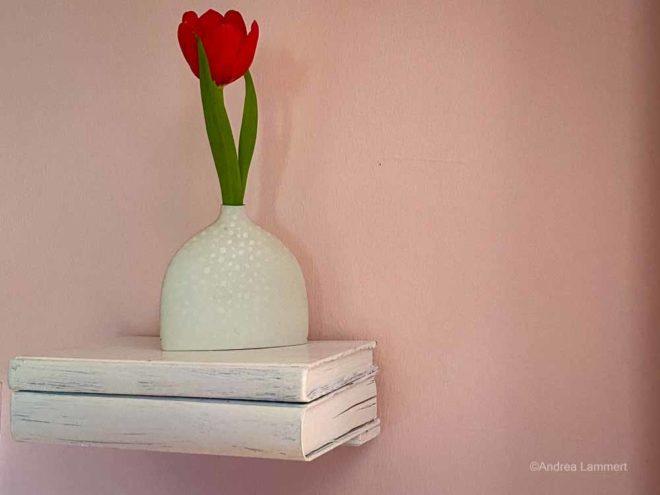 Regal aus Büchern, selbstgebaut, Anleitung