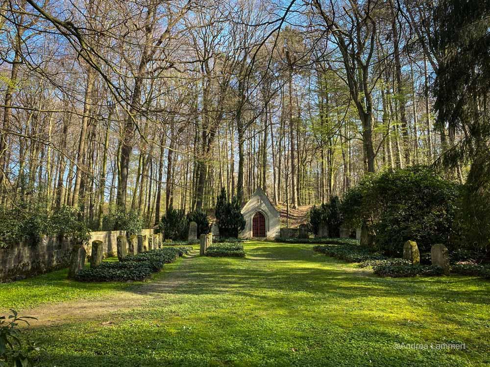 Der Friedhof der Knigges bei Bredenbeck