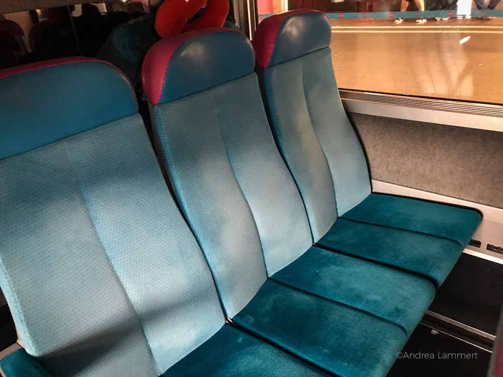Bus und Bahn in Frankreich, von Hannover zum Mittelmeer mit Bus und Bahn, Ouigo