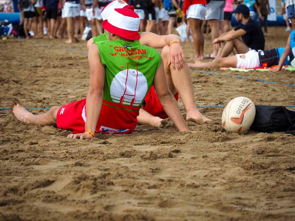 Rugby gehört einfach dazu in Südfrankreich. Gruissan Südfrankreich, Strand, Tipp