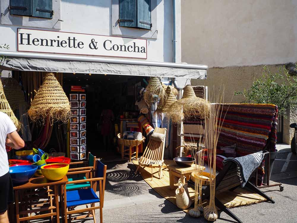Ein wunderbarer Shoppingtipp von Gruissan ist dieser Laden.Gruissan Südfrankreich, Strand, Tipp