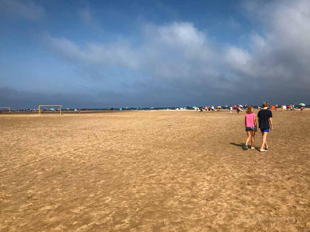 Der Strand von Gruissan ist schier endlos. Gruissan Südfrankreich, Strand, Tipp
