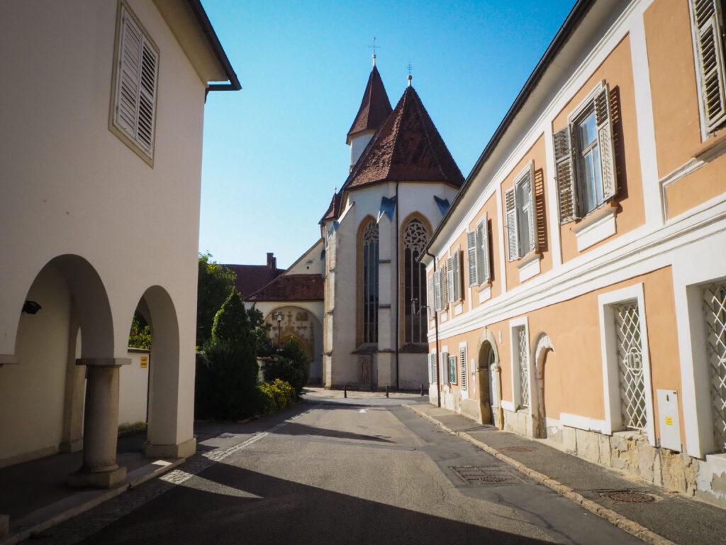 Bad Radkersburg, Steiermark, und Stadtpanorana