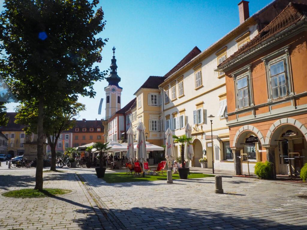 Hauotplatz in Bad Radkersburg